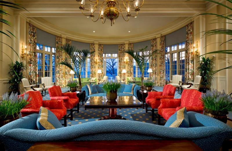 Main lobby at The Otesaga Resort Hotel.