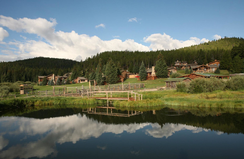 Exterior view of Paradise Guest Ranch.