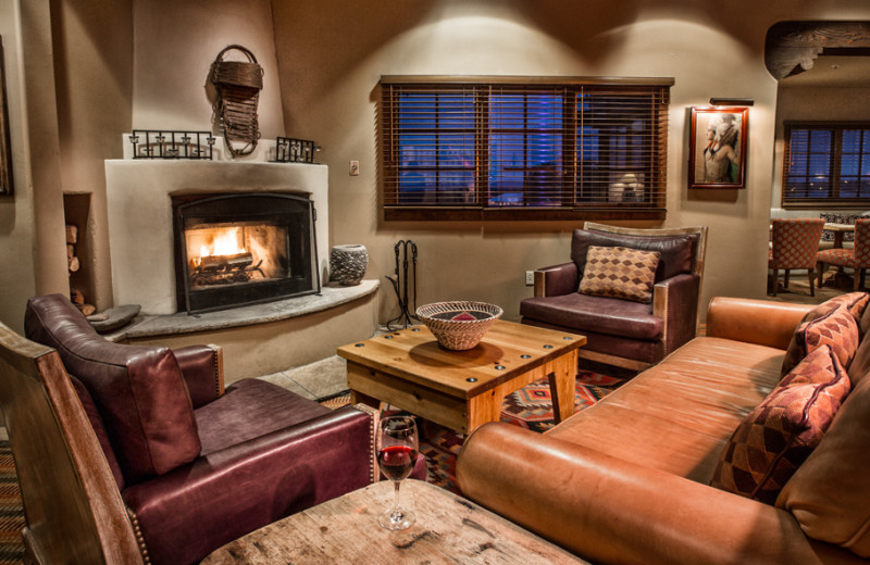 Unwind in your spacious living area at Hotel Santa Fe