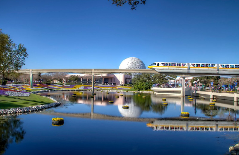 Disney's Epcot is near by Clarion Inn Lake Buena Vista.