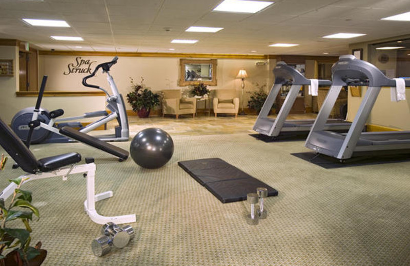 Fitness room at The Charter at Beaver Creek.