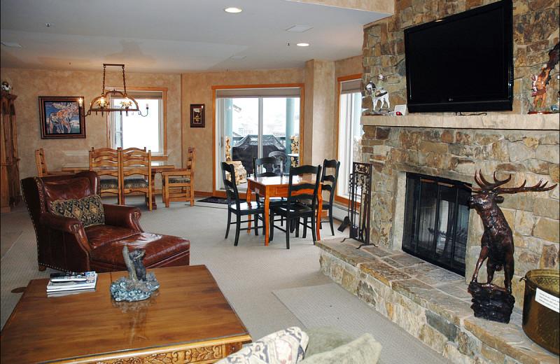 Rental interior at Beaver Creek Rentals by Owner.