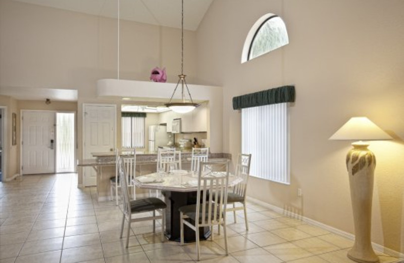 Guest dining room at Westgate Town Center.
