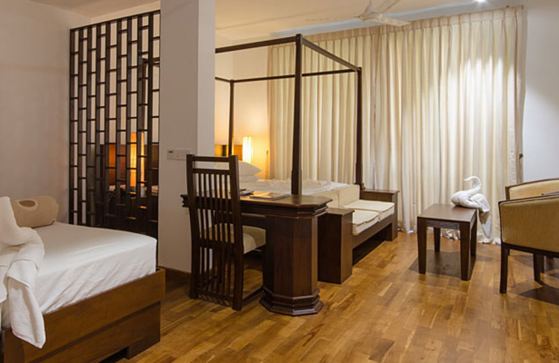 Guest room at Swiss Residence Hotel - Kandy.