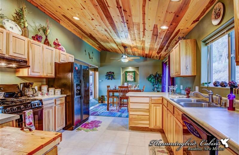 Kitchen at Hummingbird Cabins - Bear Crossing Vacation Rental