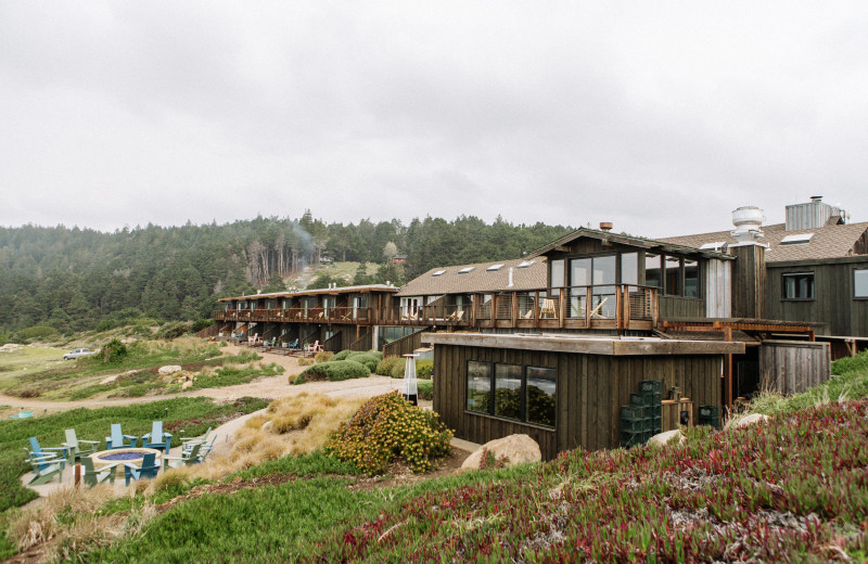 Exterior view of Timber Cove Inn.