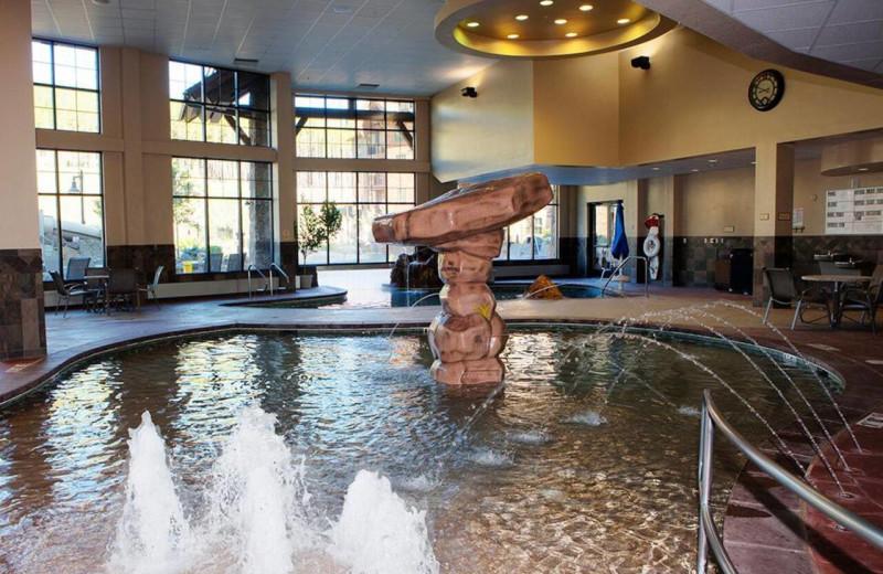 Indoor pool at Grand Lodge on Peak 7.