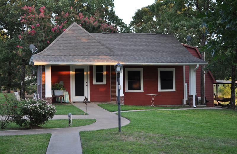 Guest cottage at Saline Creek Farm.