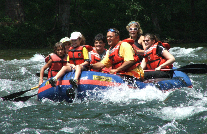 Whitewater rafting available nearby from multiple outfitters.  Get out and have fun.