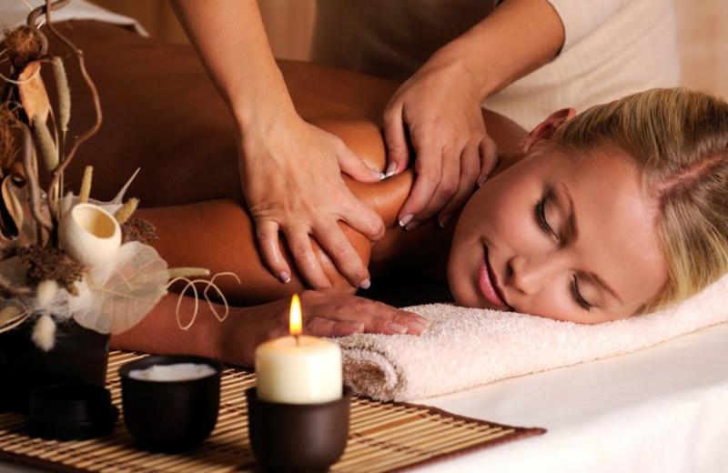 Massage at White Buffalo Club.