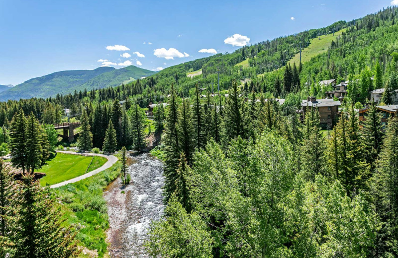 Guest view at Antlers at Vail.