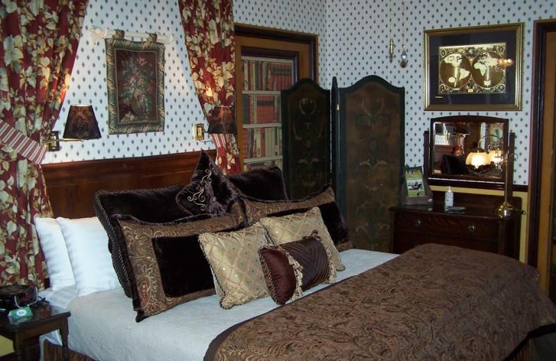 Guest room at Dunbar House, 1880.