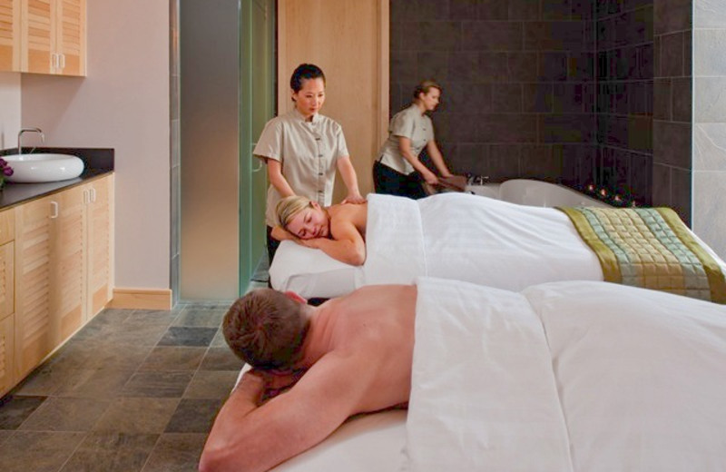 Spa massages at La Torretta Lake Resort.