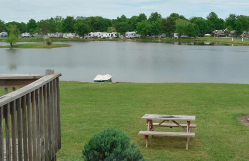 Lake view at Mark Twain Landing.