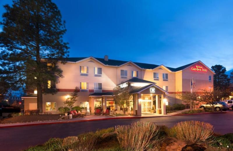 Exterior view of Hilton Garden Inn Flagstaff.