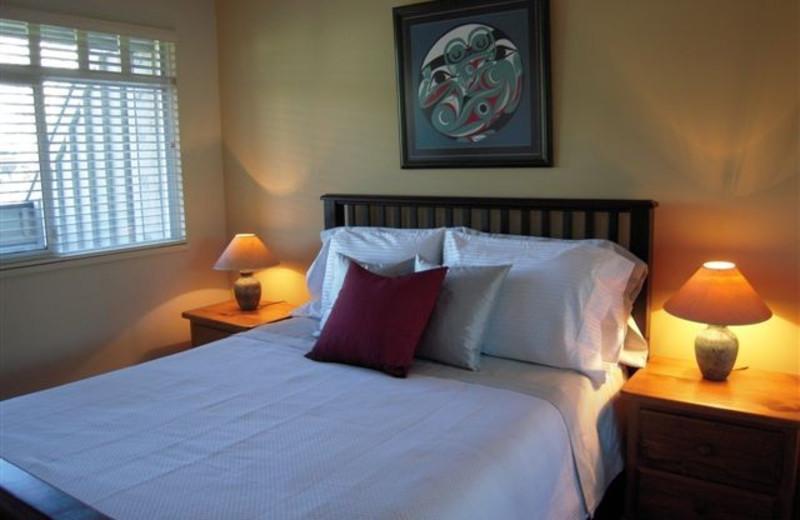 Rental bedroom at Stoney Creek Resort Properties.