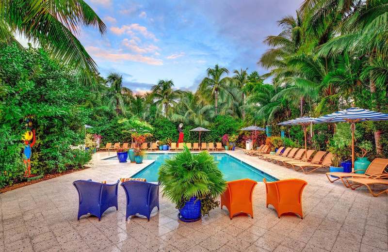 Outdoor pool at Parrot Key Resort.
