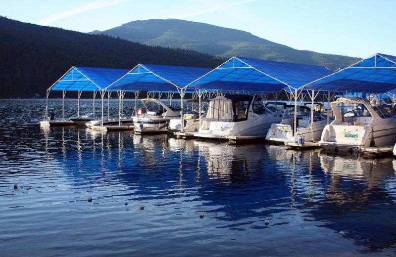 Marina at Blue Diamond Marina & Resort.