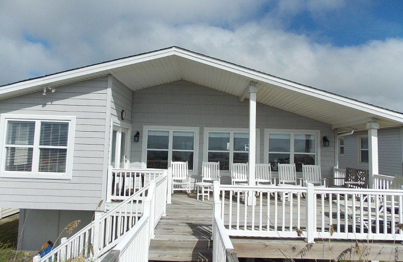 Exterior view of Ocean Isle Beach Realty.