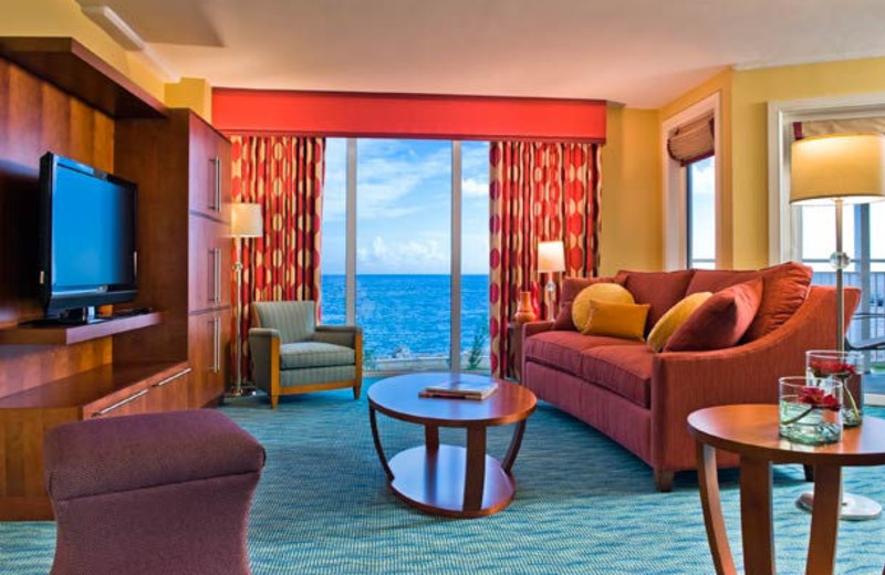 Suite at Renaissance Curacao Resort & Casino.