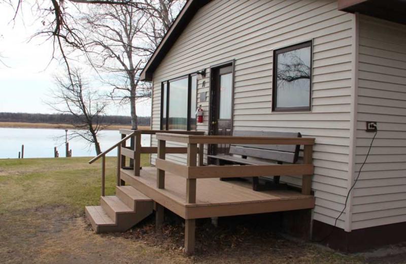 Cabin at Ballard's Resort.
