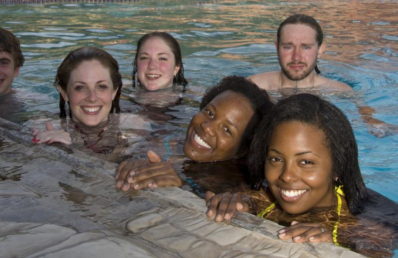 Group at Glenwood Hot Springs.