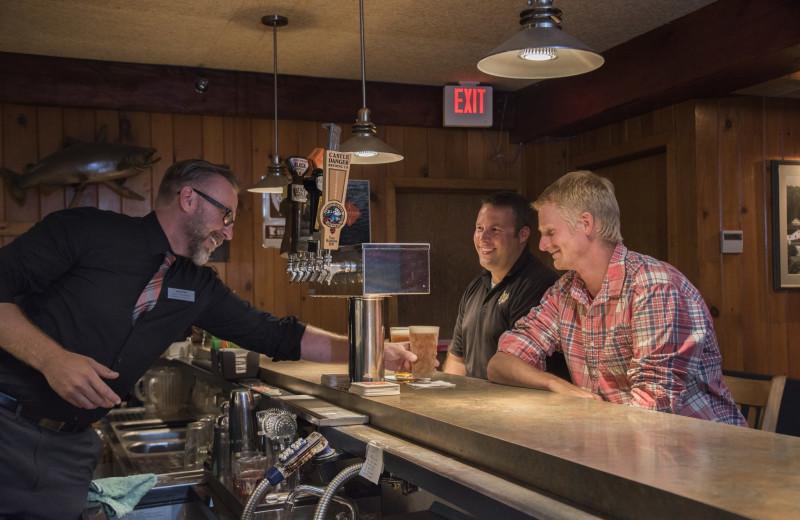 Bar at Lutsen Resort on Lake Superior.