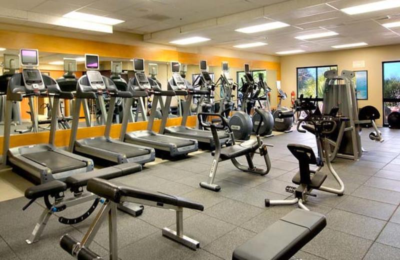 Fitness center at Hilton Tucson El Conquistador Golf & Tennis Resort.