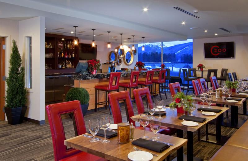 Dining room at The Crimson Jasper.