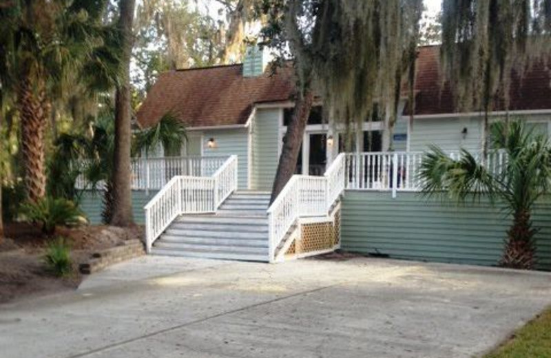 Vacation Rental Exterior at Beachside Getaway