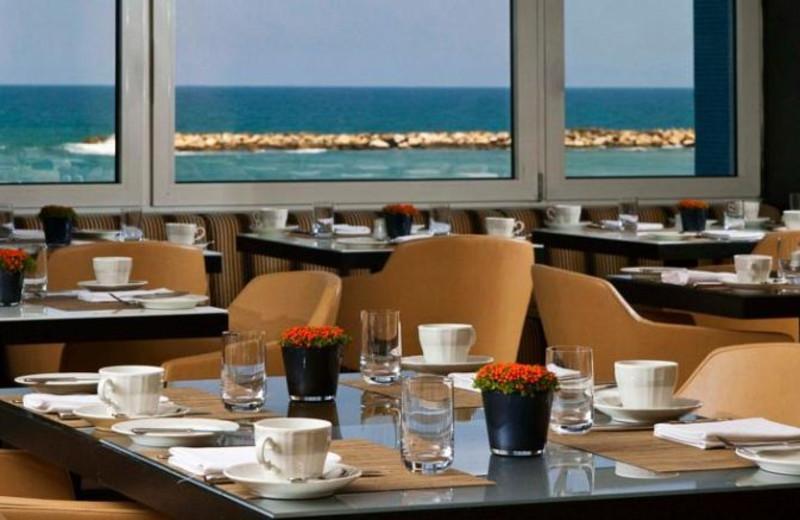 Dining at Dan Tel Aviv.