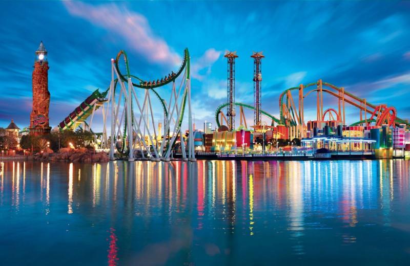 Universal Studios near Florida Paradise Villas.