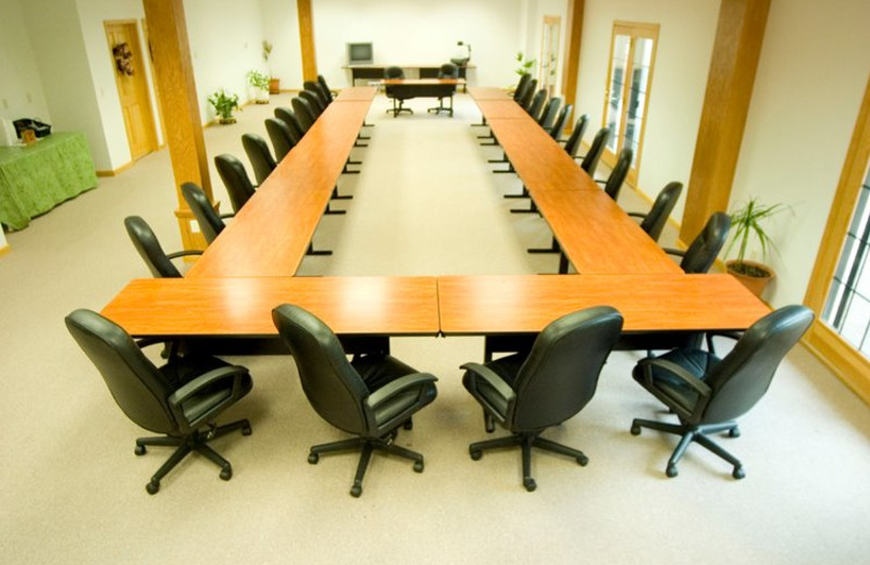Meeting room at Harpole's Heartland Lodge.