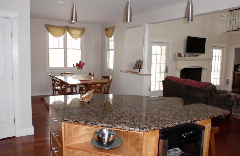 Rental interior at Hopper Real Estate.