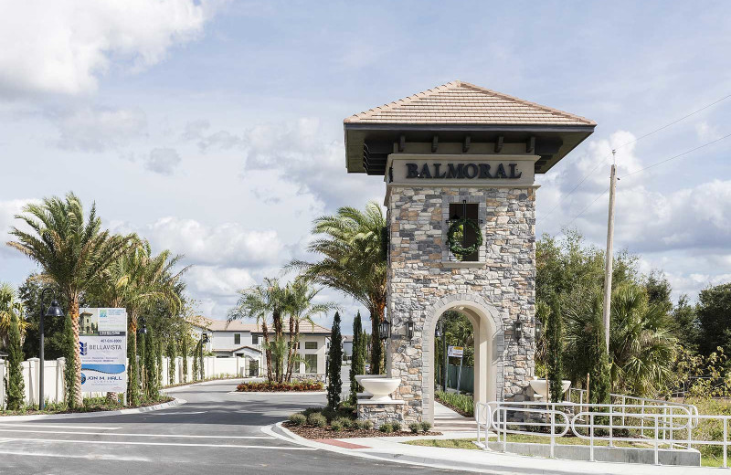 Exterior view of Balmoral Resort.