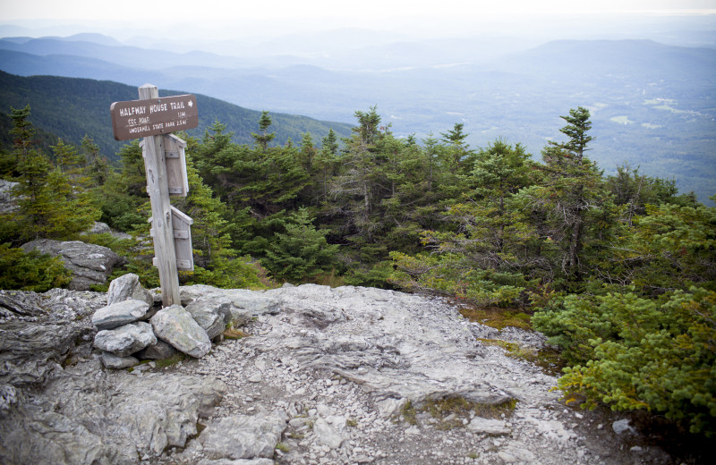 Scenic view at Smugglers' Notch Resort.