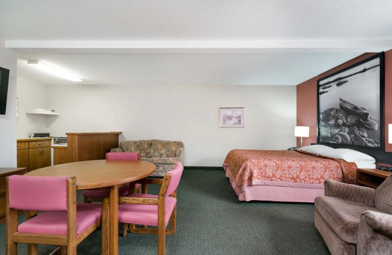 Guest suite at Super 8 Perham.