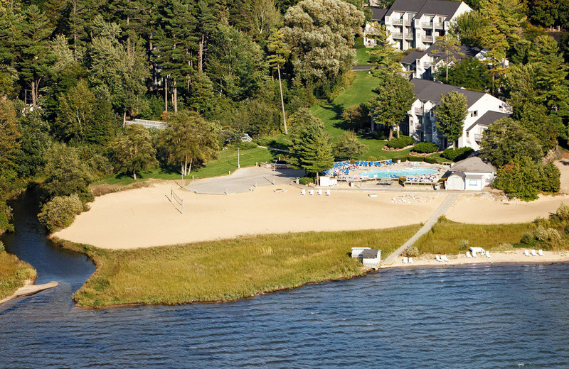 Exterior view of Grand Traverse Resort.