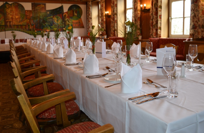 Dining at Hotel Pfeifer Kirchenwirt.