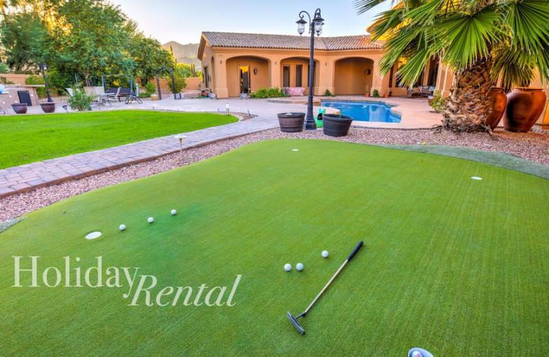 Rental golf at HolidayRental.com.