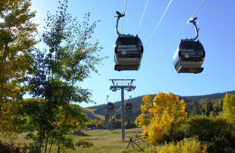 Gondolas at East West Resorts Beaver Creek.