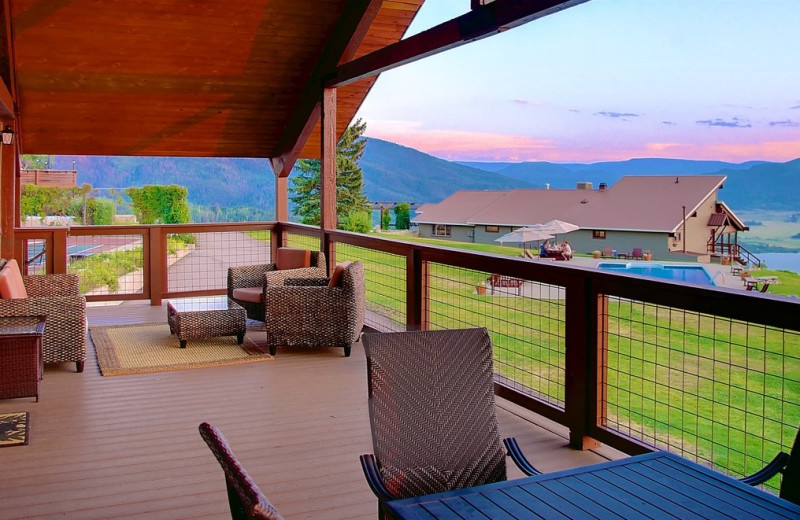 Exterior view of Bella Vista Estate.