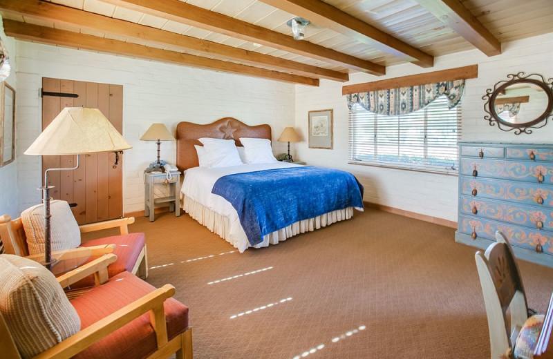 Guest room at Rancho De Los Caballeros.