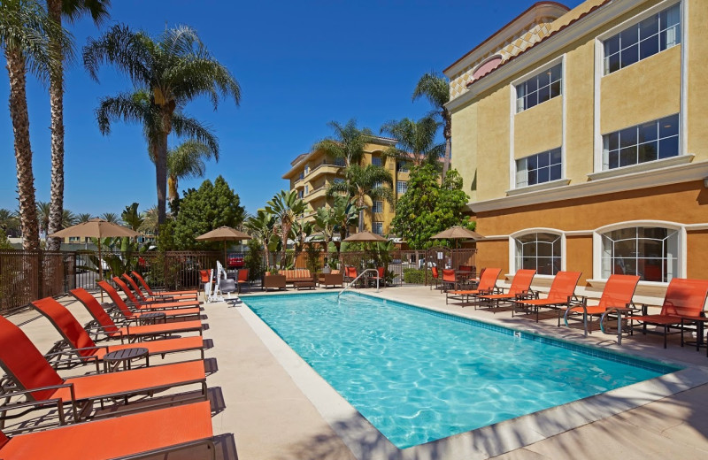 Outdoor pool at Portofino Inn and Suites.