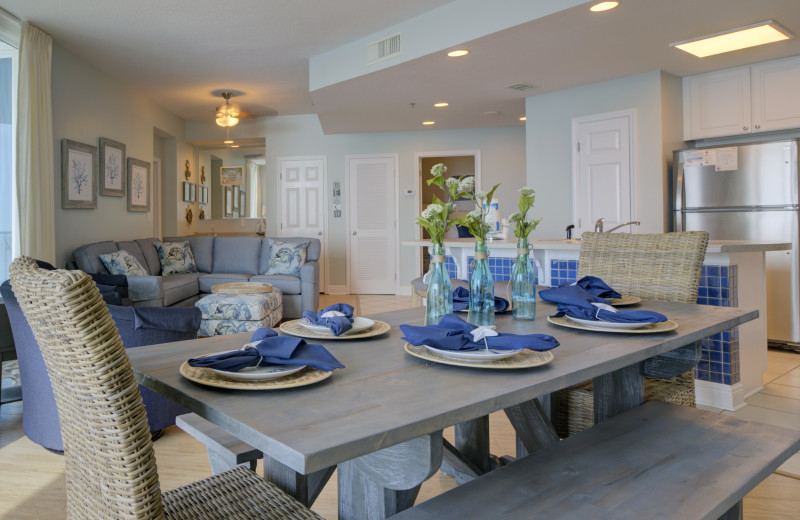 Rental interior at Paradise Gulf Properties.
