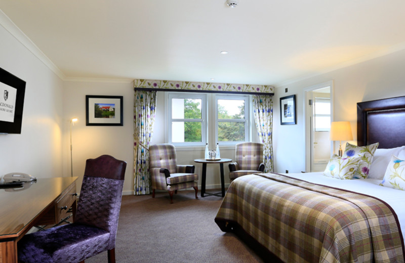 Guest room at Aviemore Highland Hotel.