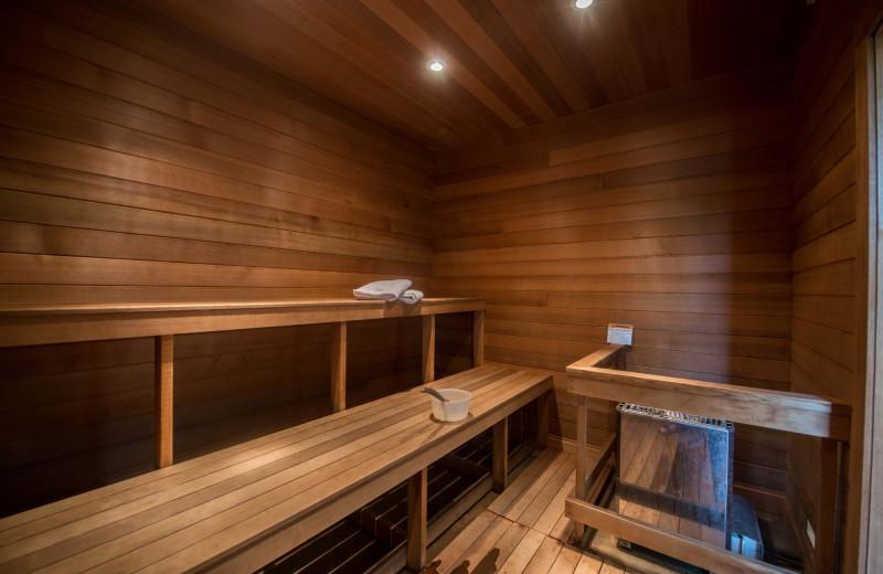 Sauna at The Inn at Ocean's Edge.