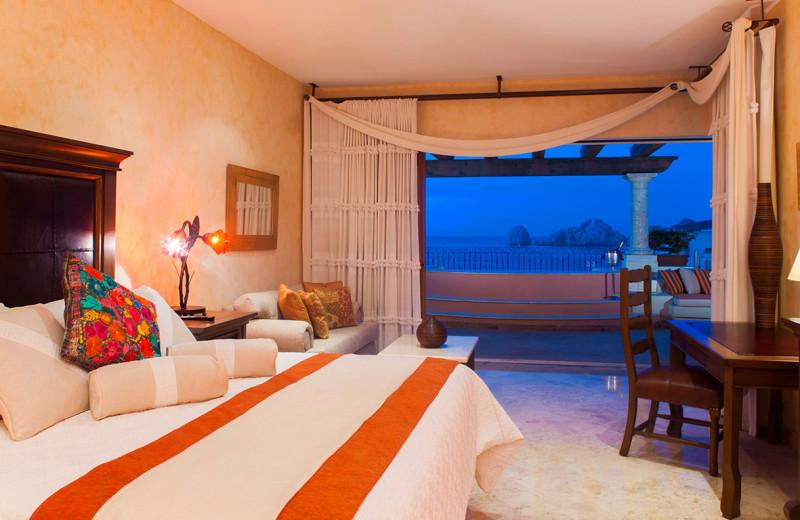 Guest room at Villa La Estancia at Cabo La Estancia.