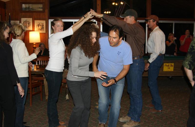 Dancing at Rankin Ranch.