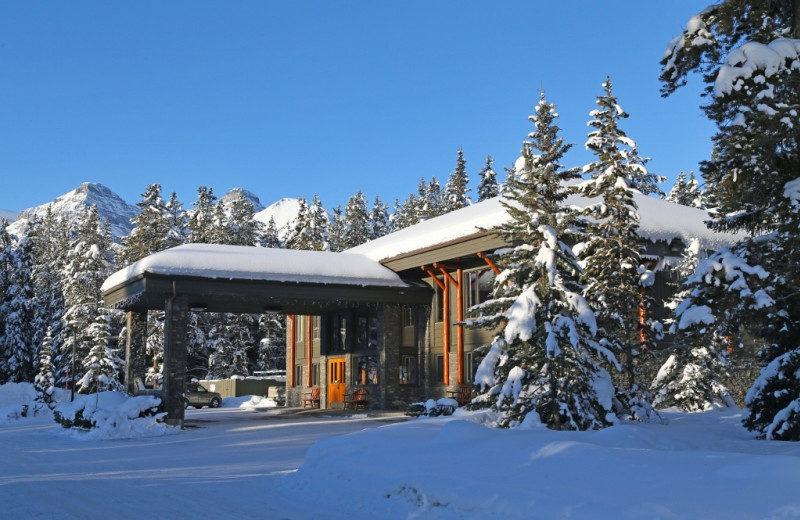 Winter time at Mountaineer Lodge.
